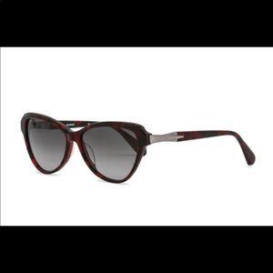 Red Balmain sunglasses